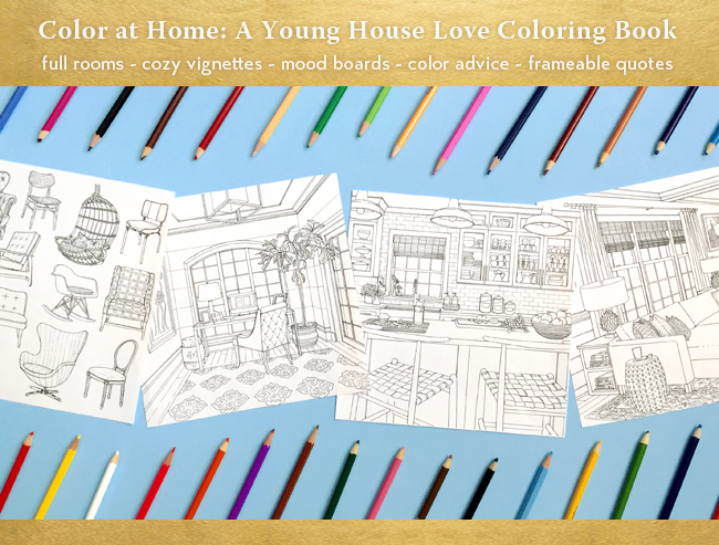 Coloring home pictures to color.