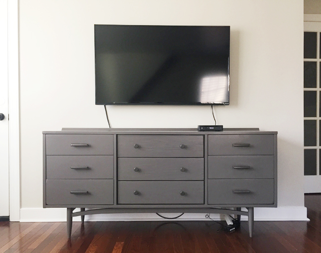 How-To-Hide-TV-Wires-Television-Mounted-To- : wall mount tv wiring - yogabreezes.com