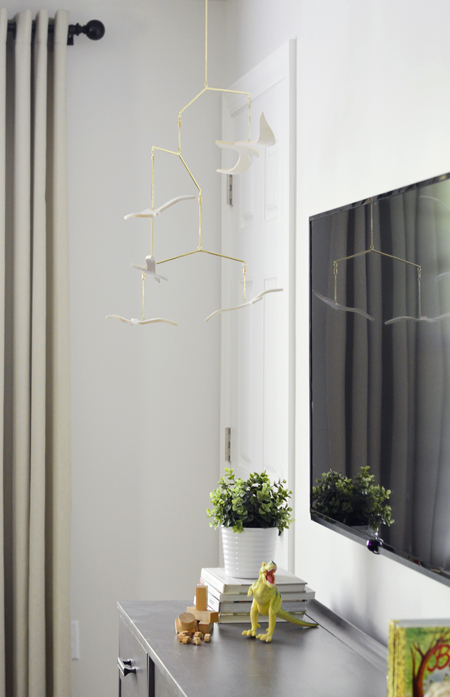 How To Hide TV Wires For A Cord-Free Wall | Young House Love