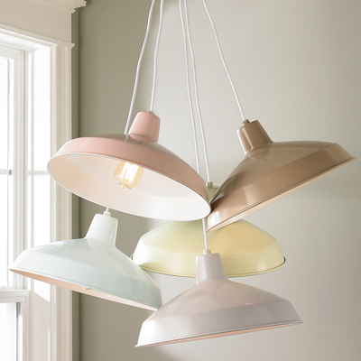 Serene Color Farmhouse Pendants