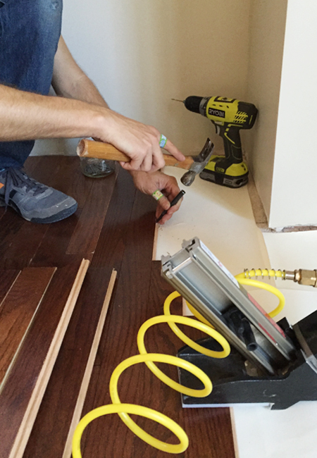 How To Install Hardwood Flooring Young House Love