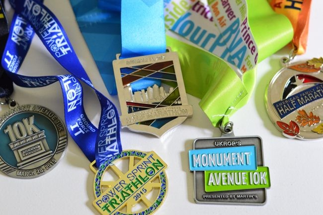 Turning Race Medals Into Christmas Ornaments (It's Ridiculously Easy)