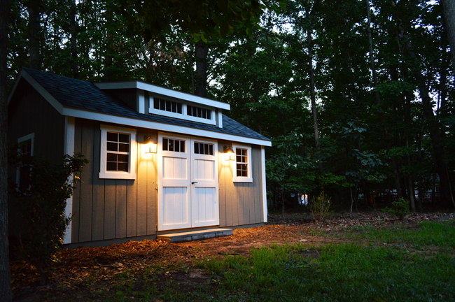 Shed-After-At-Night