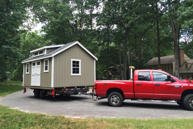Shed-Delivery-Truck-In-Cul-De-Sac