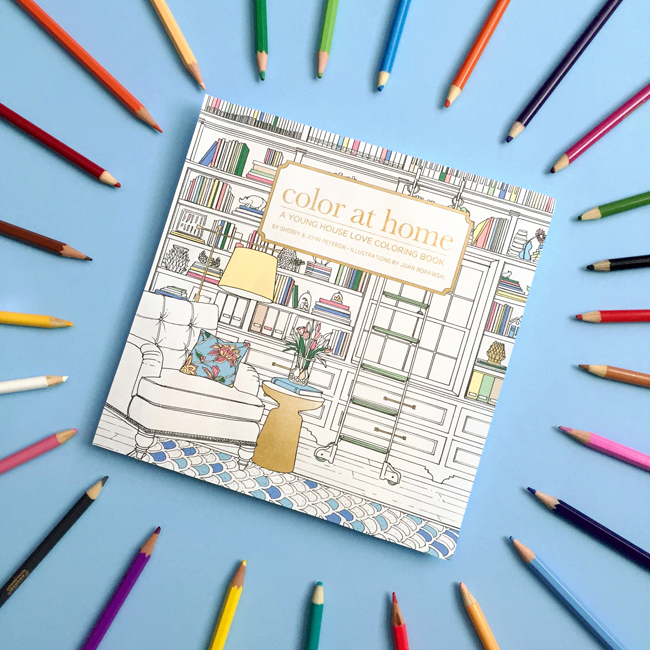 Behind The Scenes: Making A Coloring Book Young House Love