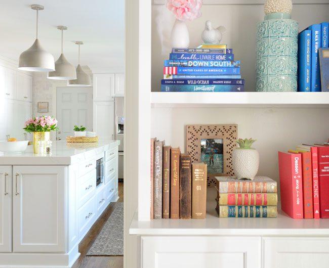 Adding Built-In Bookshelves Around Our Living Room Doorway