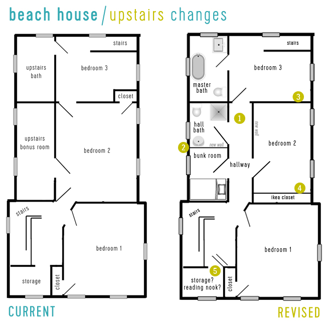 Beach House Video Tour Floor Planning Young House Love
