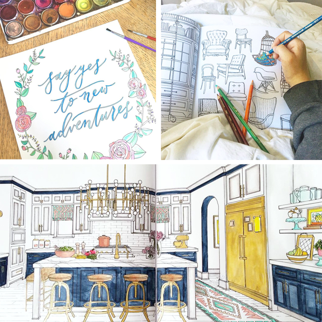 Behind The Scenes: Making A Coloring Book | Young House Love