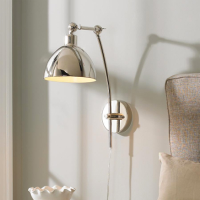 Dapper Wall Sconce – Chrome