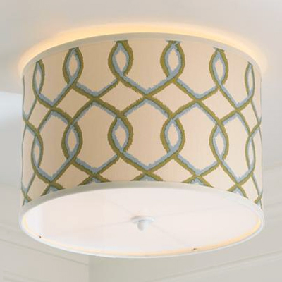 Trellis Ceiling Light (4 Colors!)