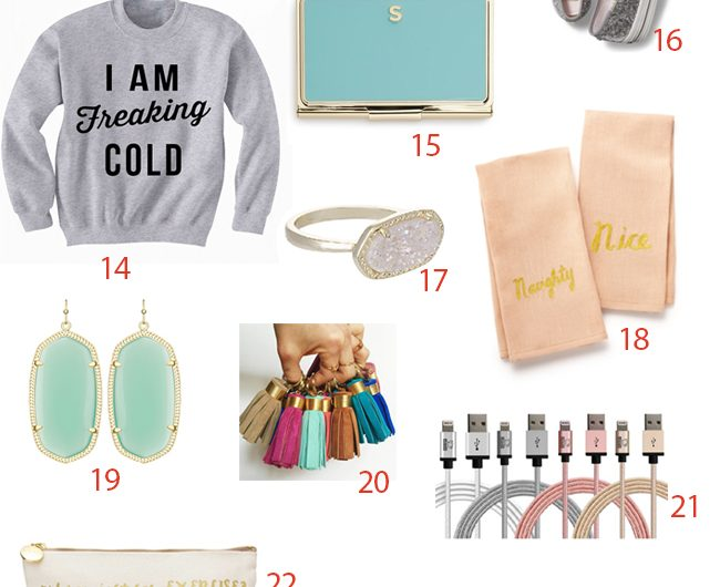 Holiday Gift Guides For Guys, Gals, & Kids
