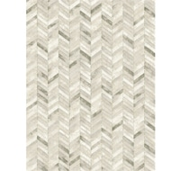 Silver Chevron Rug