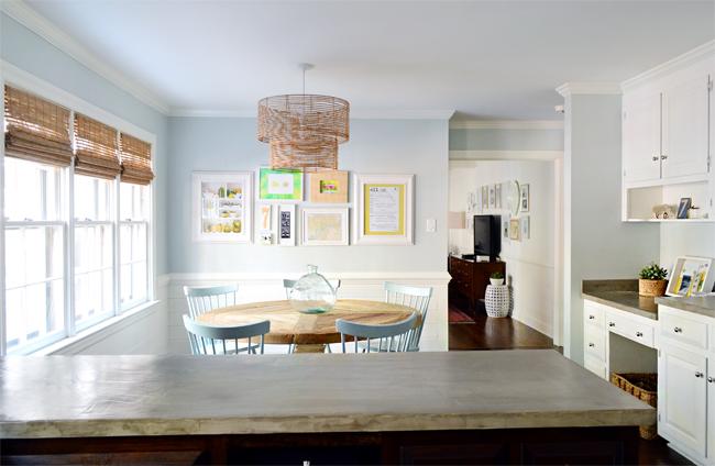 Kitchen Reno Floorplan Living Room Wall