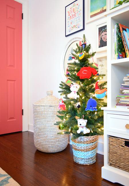Xmas Decor Kids Room Christamas Tree