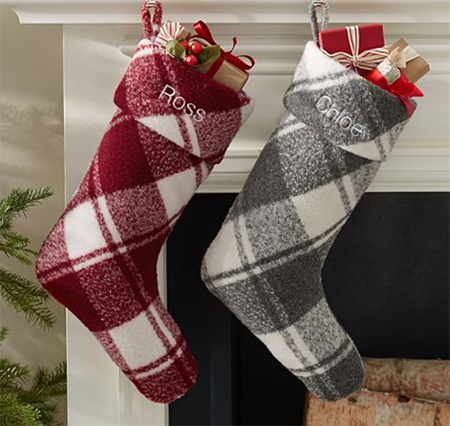 plaid-stockings-pottery-barn