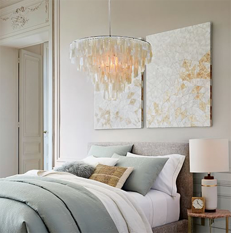 west-elm-grand-capiz-chandelier-huge-sale