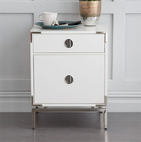 white-and-polished-nickel-night-stand-west-elm