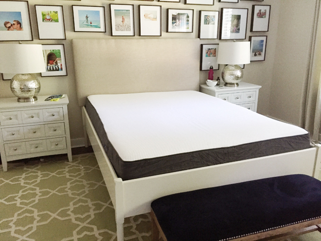 why we returned our mail-order foam mattress | young house love