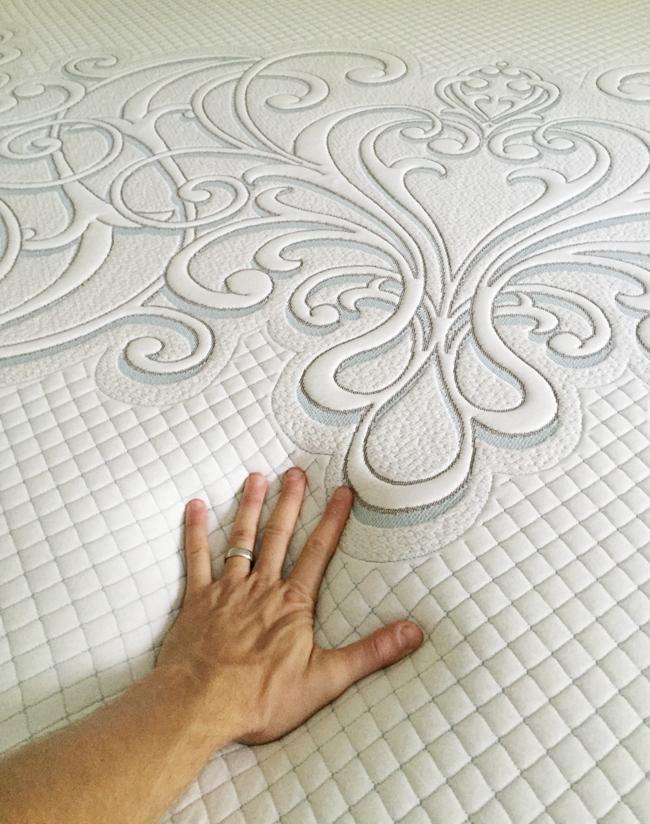 foam mattress review sealy posturepedic hybrid foam coil
