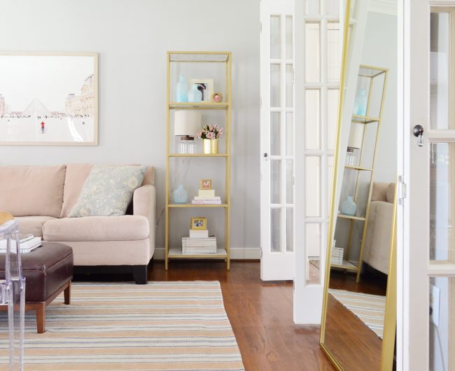 Easy Makeover: Taking A Neutral Living Room From Plain To Polished
