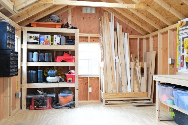 Shed Storage Ideas Garage Organization Wall