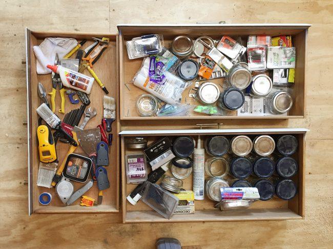 shed storage ideas junk drawers garage