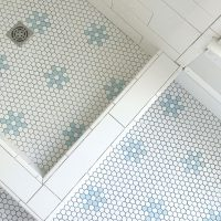 HOLY THINSET, BATMAN! The Beach House Bathrooms Are Tiled!