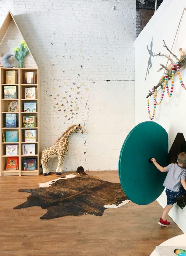 kids room ideas bookcases hobbit hole felt garland