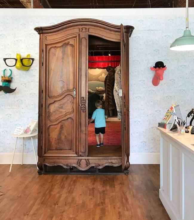 kids room ideas secret wardrobe hideaway
