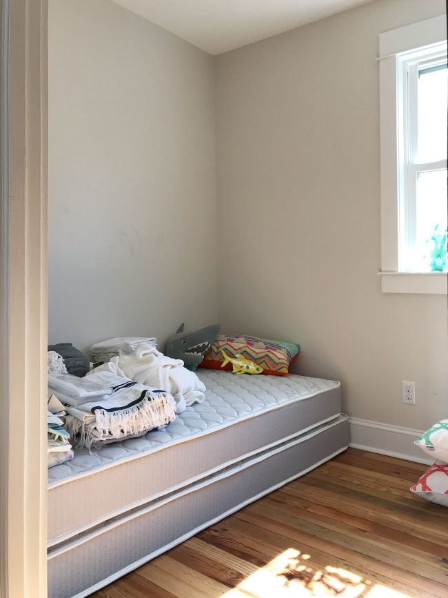 The Most Put Together Bedroom So Far Is The Master Bedroom In The Back Of  The House, Where John And I Slept Both Nights. We Arrived With Fresh  Bedding And ...