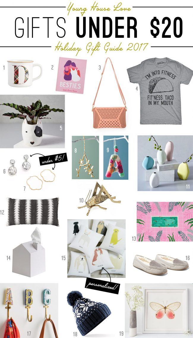 Christmas Gifts Under 20.Holiday Gift Guides For Everyone On Your List With Stuff
