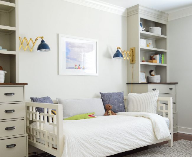 Houston, We Have A Big Boy Bedroom (Buh-Bye Crib!)