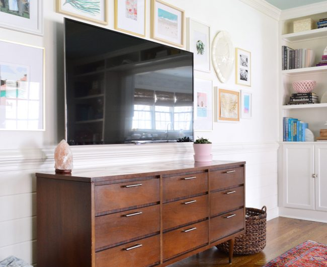 How To Create A TV Gallery Wall