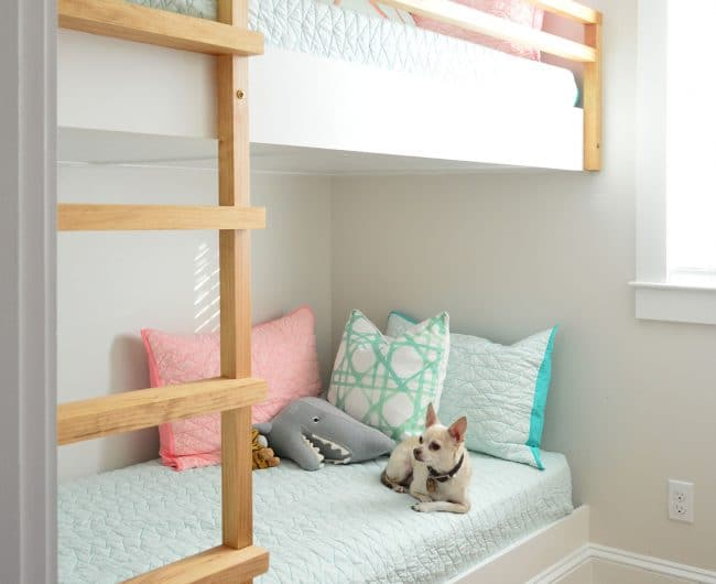 How We Made Built-In Bunk Beds At The Beach House