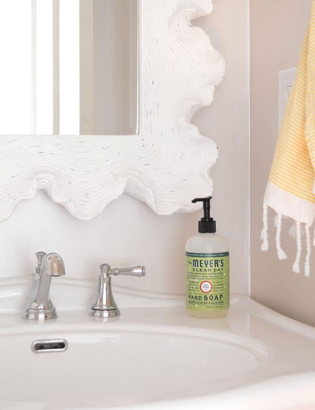 Sherry New To Us Scenets Of Mrs Meyers Including Iowa Pine And Basil Specifically The Basil Hand Soap And Dishwashing Liquid And The Even Though Iowa