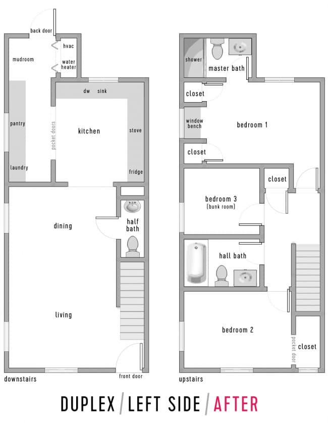 The New Duplex Floor Plan | Young House Duplex Home Floor Plans And Designs on polygamous family house designs, best architecture house designs, duplex townhouse designs, simple house plans designs, duplex house design australia, flat roof house plans designs, duplex home designs, basement floor designs, manufactured home designs, basic duplex designs, modern duplex house plans designs, a blueprint for duplex designs, open floor plan house designs, architectural designs,