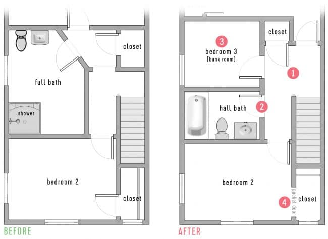 The New Duplex Floor Plan Young House Love