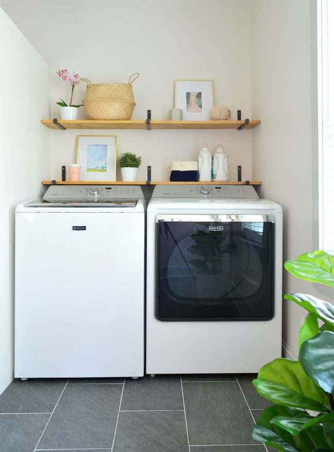 Disguising Ugly Stuff In A Laundry Room Young House Love