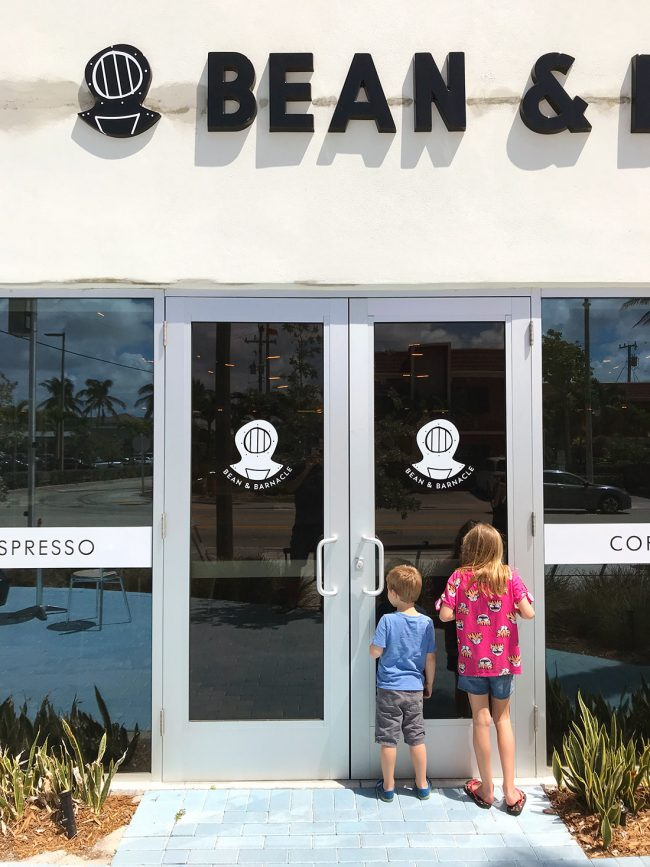Bean and Barnacle Restaurant in Pompano Beach Florida