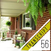 #56 Transcript: The Big Mistake We Made Selling Our House By Owner