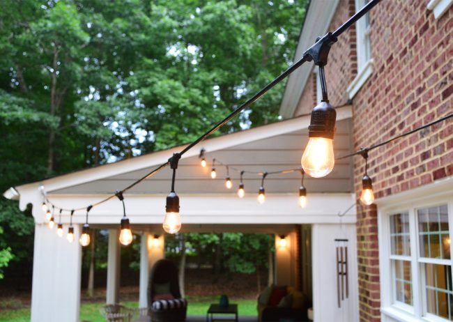 Update 4: Hanging Garden Lights