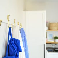 A Simple Mega-Hook Rail For Your Mudroom