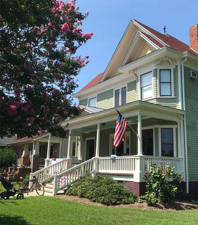 historic home for rent in cape charles virginia