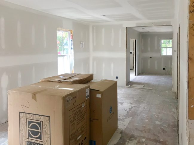 The Duplex Has Drywall! And A Video Tour!