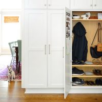 Maximizing Our Mini Mudroom