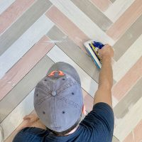 The Only Grout We Ever Use (And How To Pick The Right Grout Color)