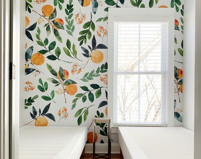 How To Install Removable Wallpaper Featured Image With Oranges