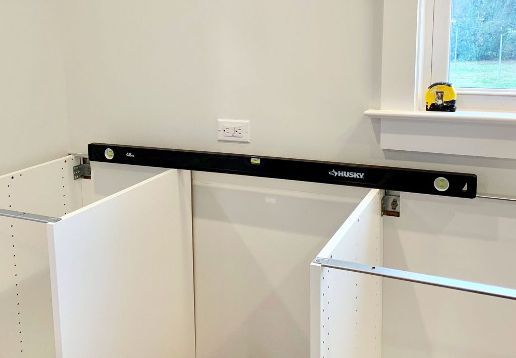 Your medium sized level will help with the process as well (especially in checking that each inidual cabinet is level front-to-back) but youu0027ll want ... & Tools u0026 Tricks For Installing An Ikea Kitchen Yourself| Young House Love