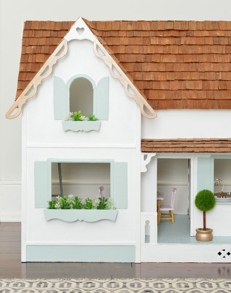"""996a5211f99 ... is that the kids really wanted super detailed dollhouses to fix up, and  we got two of them secondhand on Facebook marketplace to """"renovate""""  together."""