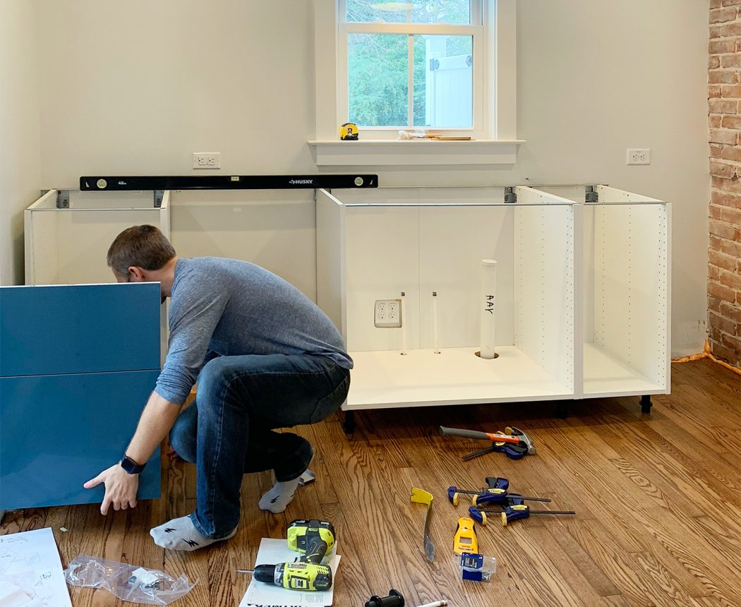 Young House Love Diy Home Decorating Projects Tutorials Electrical Installation Upgrade Importance Design Family And A Freakish Amount Of Ikea Boxes Filling The Duplex So This Week Were Sharing How We Navigated Task Installing Not One